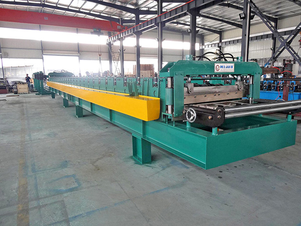 Floor Decking Roll Forming Line