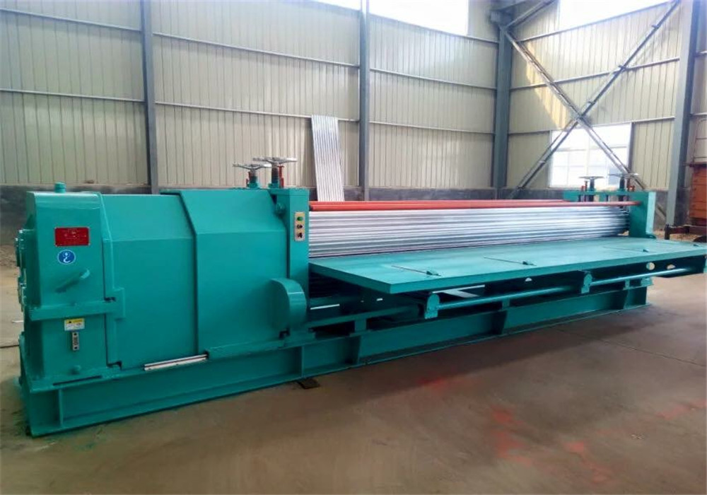 Barrel Corrugated Roof Machine